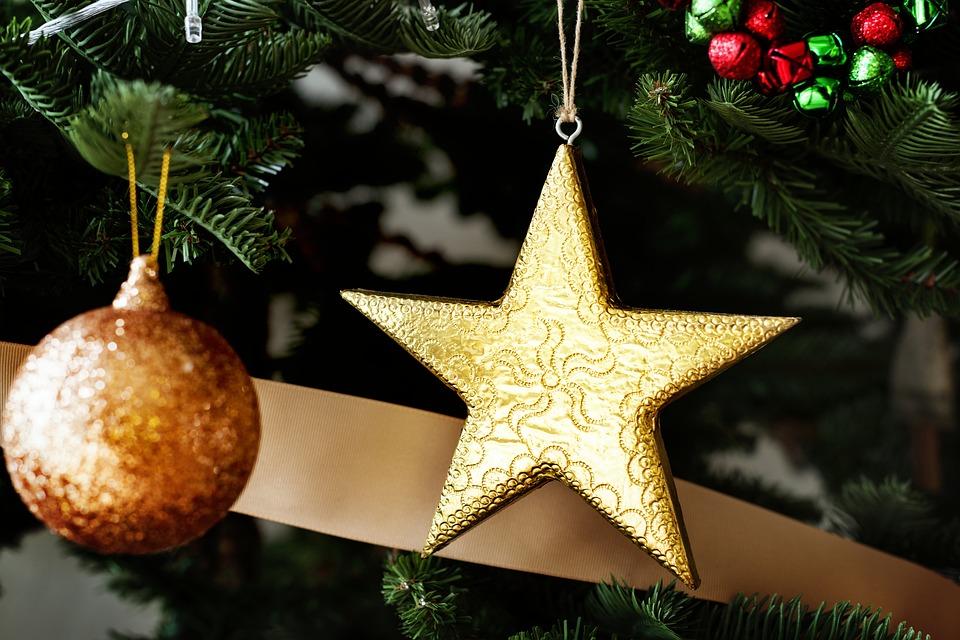 новогодняя звезда